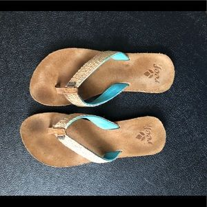 Reef Sandals. Size 8